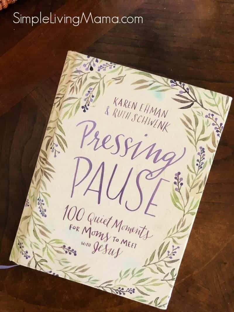 Pressing Pause devotional