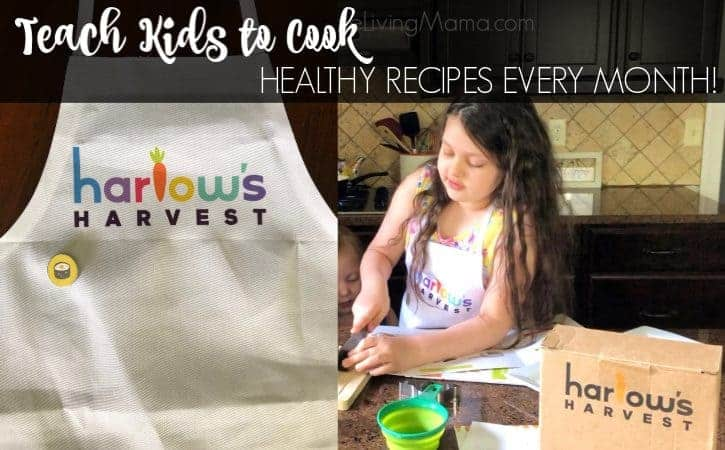 Teach Kids To Cook with Monthly Cooking Kits – Harlow's Harvest (Giveaway)