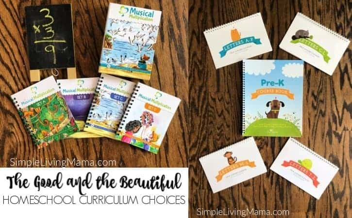 The Good and the Beautiful Homeschool Curriculum – What We're Using for 2019-2020