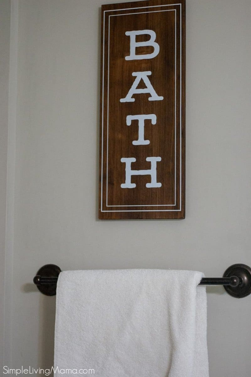 Farmhouse Bathroom Decor Ideas Simple Living Mama