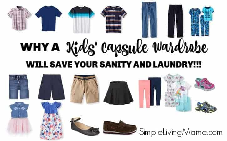 How To Create a Kids' Capsule Wardrobe + Giveaway!!!!