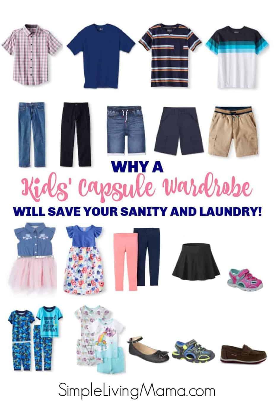Learn how to create a kids capsule wardrobe and what the essentials of a kids capsule wardrobe are!