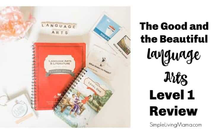 The Good and the Beautiful Language Arts Review – Level 1