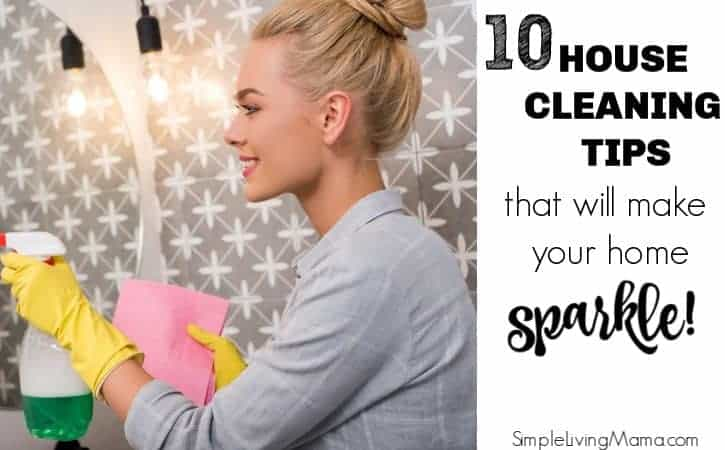 10 House Cleaning Secrets That'll Make Your Home Sparkle! – July Cleaning Calendar