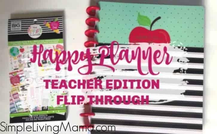 The Big Happy Planner Teacher Edition Flip-Through 2019-2020