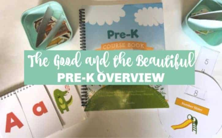 The Good and the Beautiful Pre-K Review