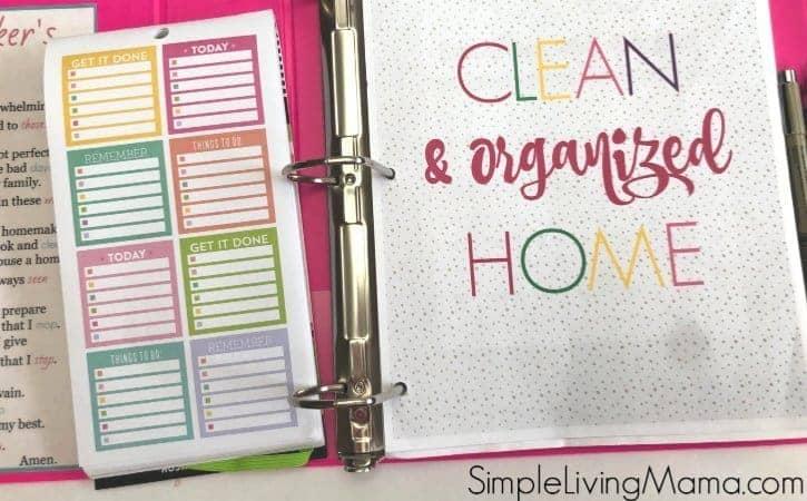 How To Make a Home Binder – Home Management Binder Set-Up