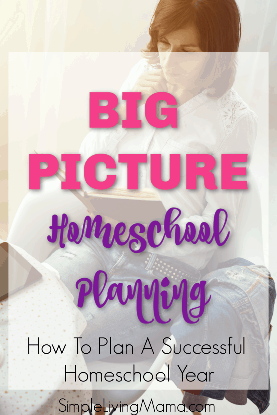 Learn how to plan your homeschool year with a homeschool planning guide