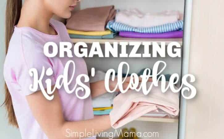 How To Organize Hand Me Down Clothes