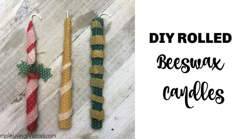How To Roll Beeswax Candles