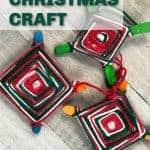 God's eye Christmas craft