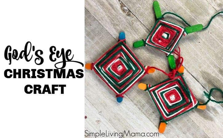 How To Make a God's Eye Craft – Weaving Ornament for Kids