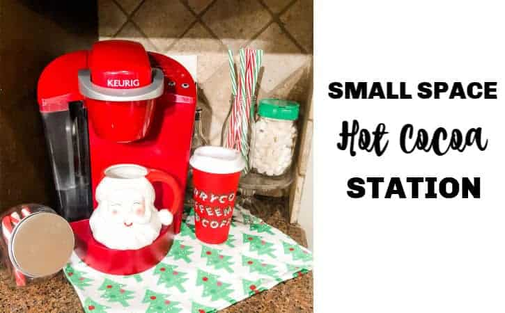 Small Space Hot Chocolate Station