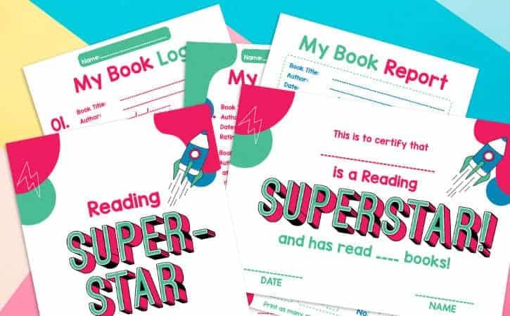 Printable Reading Reward Kit