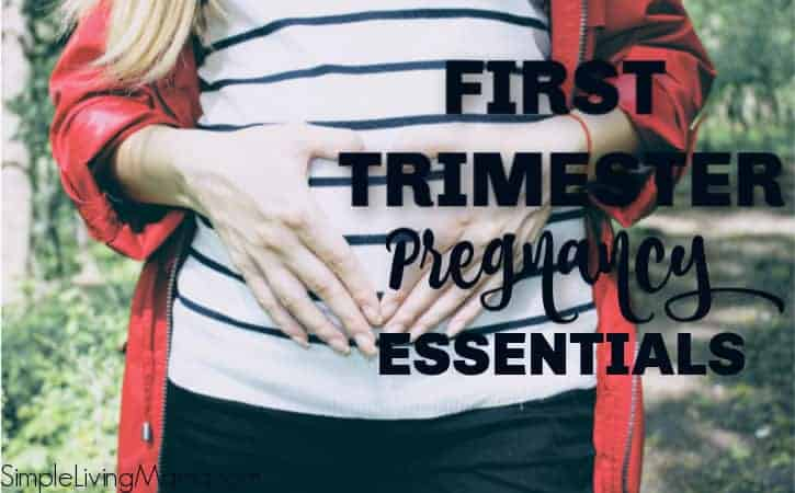 First Trimester Pregnancy Favorites