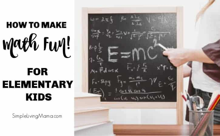How To Make Math Fun For Elementary Kids
