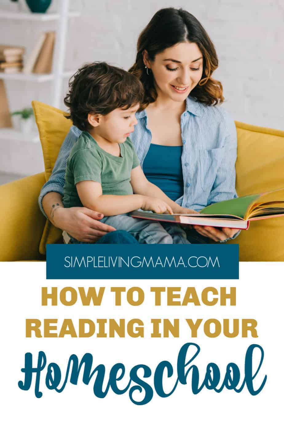 How to teach your child to read.