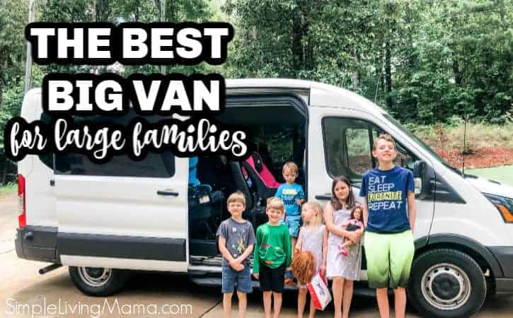 The Best Big Van for Large Families