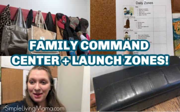 Family Command Center & Launch Zones