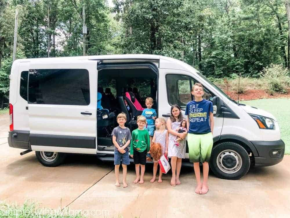 Ford Transit 350 XL Passenger Van for Large Families