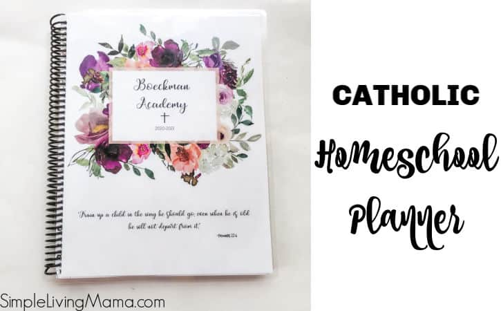 Catholic Homeschool Planner