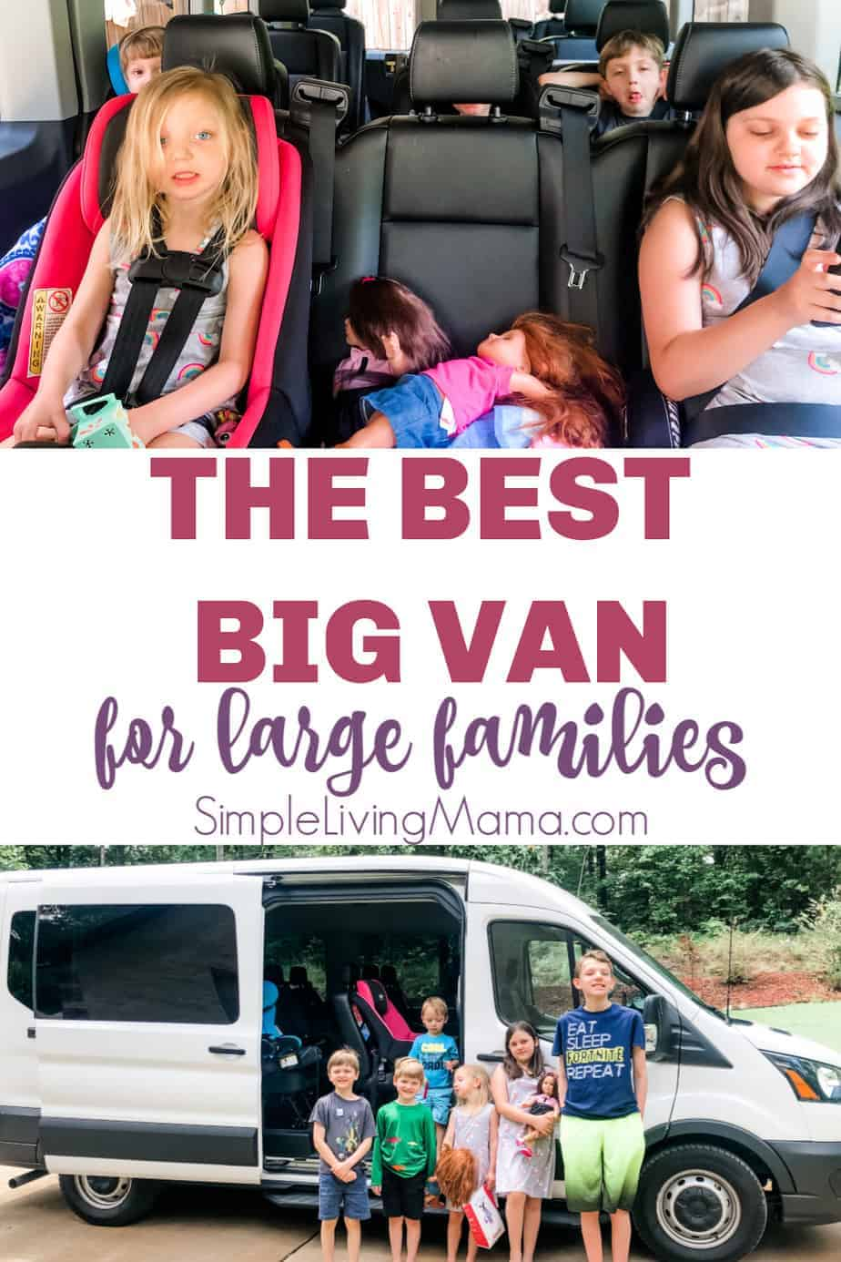 The best big van for large families, 2020 ford transit 350 XL review
