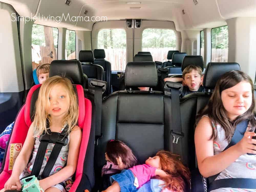 Ford Transit 350 XL passenger van