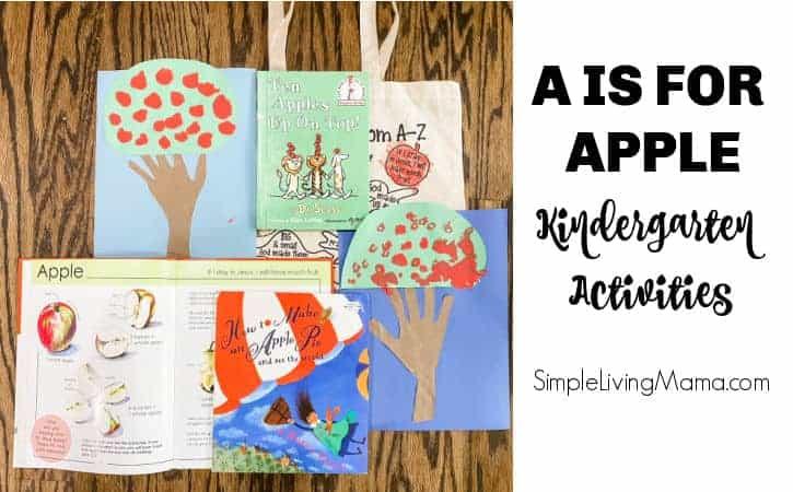 A is for Apple Activities for Kindergarten
