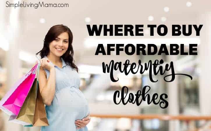 Where to Buy Affordable Maternity Clothes