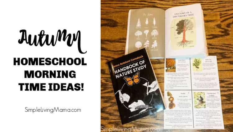 Autumn Homeschool Morning Basket Ideas