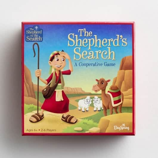Shepherd on the Search Board Game
