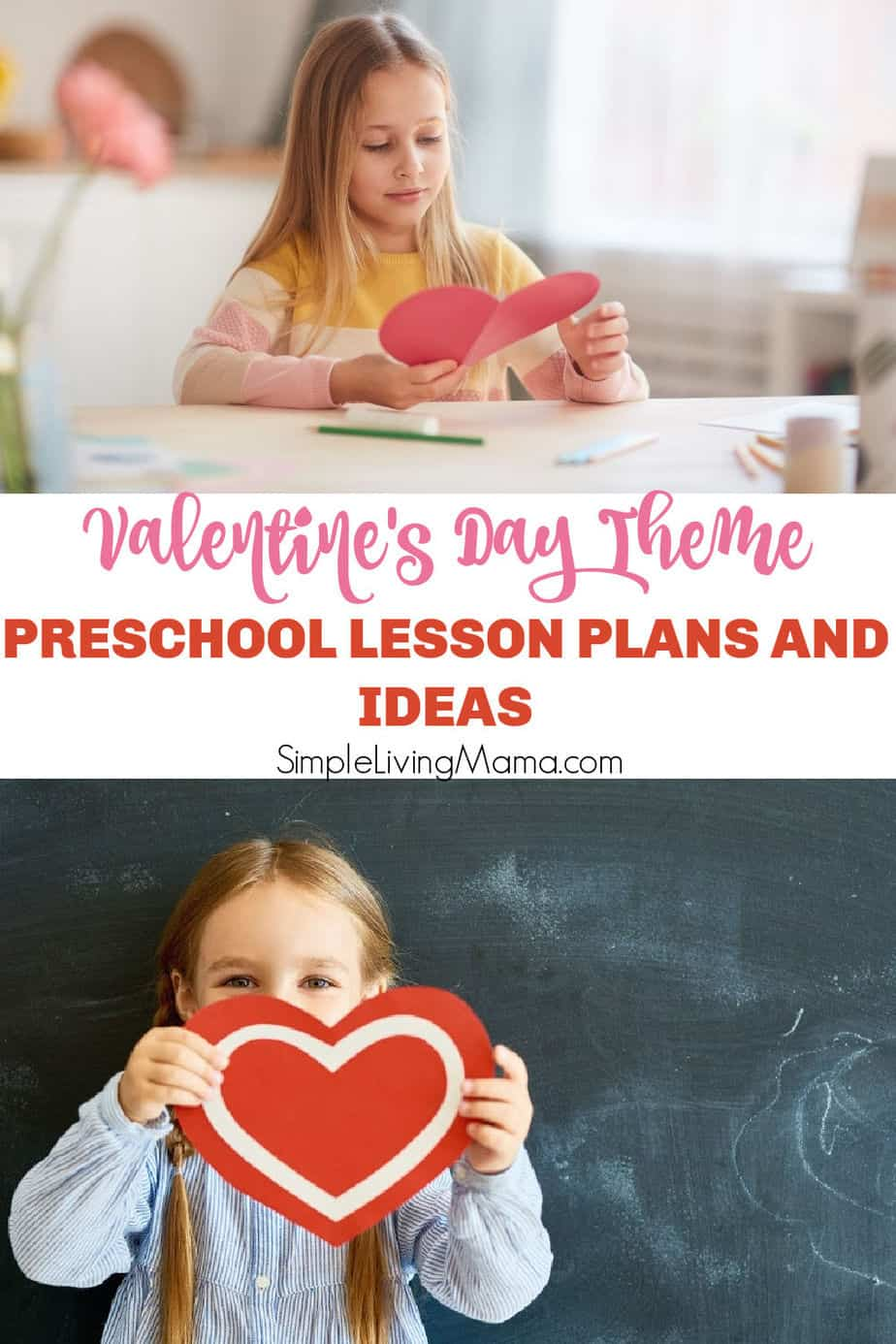 Valentine's Day Theme Preschool Lesson Plans and Activities