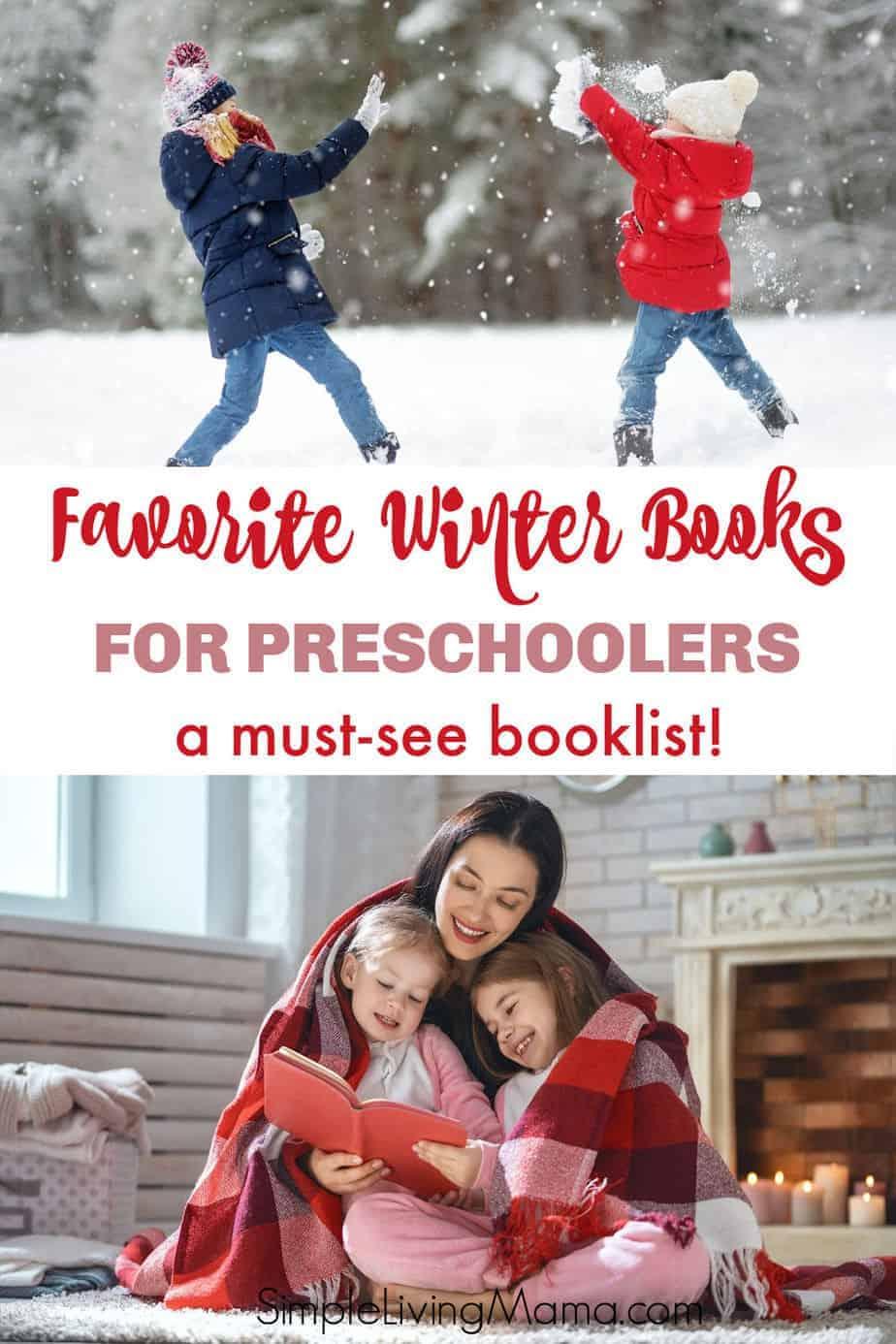 Favorite winter books for preschoolers