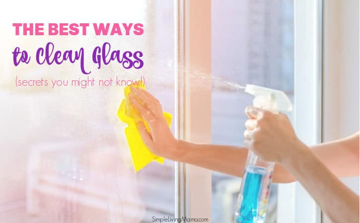 The Best Ways to Clean Glass