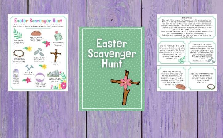 Free Printable Biblical Easter Scavenger Hunt