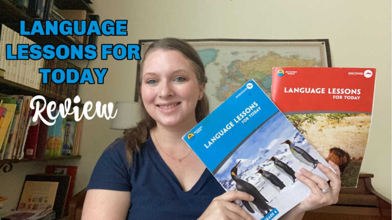 My Father's World Language Arts Review – Language Lessons for Today