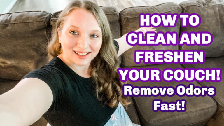 How To Clean a Fabric Sofa Naturally